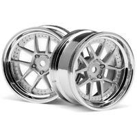 HPI Racing 111276 DY-Champion 26mm Wheel Chrome/Silver E10