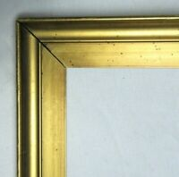 "ANTIQUE FITS 16"" X 20"" GOLD GILT WOODED PICTURE FRAME FINE ART VICTORIAN"