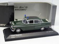Minichamps 1/43 - Opel Kapitan Polizei