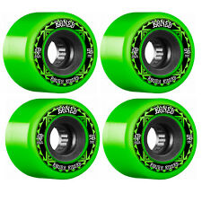 New listing Bones Skateboard Wheels 56mm Rough Riders Runners Green 80A ATF All Terrain For