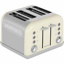 Morphy Richards 242035 Accents 4 Slice Toaster Cream New from AO
