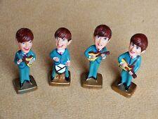 Beatles Memorabilia Original Nodder Dolls Cake Decorations By Katat, China, 1964