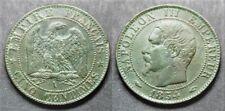 Napoléon III, 5 centimes 1854 A, TB à TTB
