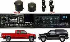 Dorman 76849 Radio Knobs For 1995-2005 GM Vehicles Bass Treble Fade Bal New USA