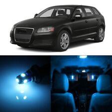 14 x Error Free Ice Blue LED Interior Light For 2006 - 2013 Audi A3 S3 8P + TOOL