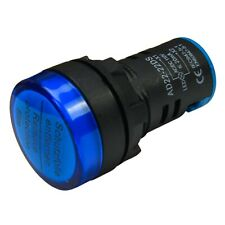 Blue Sea 8034 Green LED Indicator Light 120V AC 0.5 Milliamperes