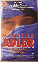 Mission Adler - Der Starke Arm der Götter (Jackie Chan) - Hartbox - VHS Rarität!