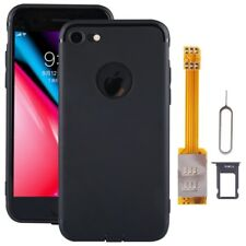 For iPhone 8 Dual SIM Cards Adapter Kit with Soft Protective Case