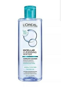 L'OREAL Micellar Cleansing Water Removes Makeup Purifies Normal/Oily Skin 400ml