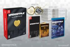 Undertale Collector's Edition Nintendo Switch + Music Box 14K Gold Locket