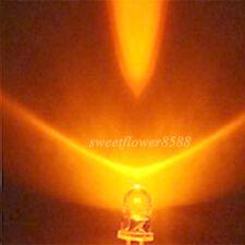 New 2000 Pcs 3mm Orange 5000mcd LED Lamp Ultra Bright Led Light Bulb Free Ship