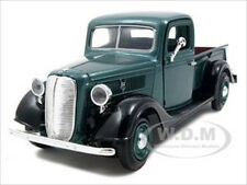 1937 FORD PICKUP TRUCK GREEN 1:24 DIECAST MODEL CAR BY MOTORMAX 73233