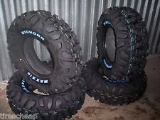 "26"" MAXXIS BIGHORN WHITE LETTER ATV TIRES FULL SET 4 TIRES FOR 14"" WHEELS"
