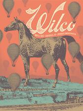 Wilco Gig Poster, Louisville 2015 (Original Silkscreen) 18 x 24' Print