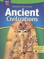 World History, Grades 6-8 Ancient Civilizations: Holt Socal Studies (Holt Social
