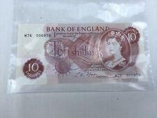 Bank of England Ten shillings note Lot BRE060719C