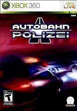 BRAND NEW SEALED XBOX 360 -- Autobahn Polizei (Microsoft Xbox 360, 2010)