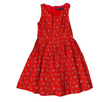 Princess Highway Red Women's Size 10 A-line Dress