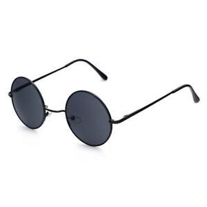 Classic Round Circle Unisex Sunglasses Mens Womens Festival Design London Style