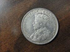 1917 Newfoundland Silver 50 Cent Coin