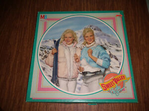 Vintage Sweet Valley High Jigsaw Puzzle Winter Carnival 250 pces ALL HERE 1988