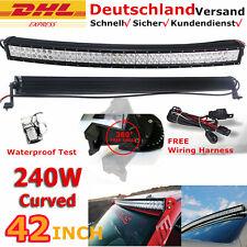 "42"" 2x 240W Kurve LED barra de luz trabajo Spot Flood Combo FOCO Auto-Tuning 12V"