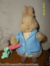 Peter Rabbit With Carrot Plush 9""