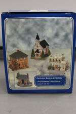 Liberty Falls Set W/ Coat & Wagon Works, 1st Evangelical Church & Clara's Bakery