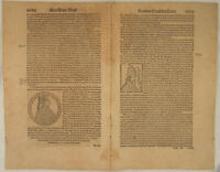 PAPST Krieg Mailand Italien Original Textblatt um 1570 Genua Herzog von GELLERN