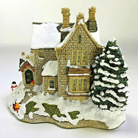 1991 Lilliput Lane THE OLD VICARAGE AT CHRISTMAS