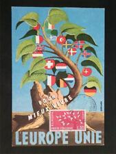 Italia MK 1962 EUROPA CEPT maximum carta carte MAXIMUM CARD MC cm c6585