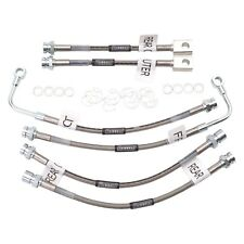 For Chevy Camaro 98-02 Russell Braided Stainless Steel Front Brake Hose Kit
