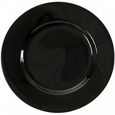 Black Charger Plates Bridal WEDDING ACCESSORY DISCOUNTED!!!!