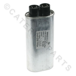 WHIRLPOOL 481912138011 MICROWAVE CAPACITOR 1µF 2500VAC HIGH VOLTAGE