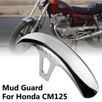 1X Motorbike Motorcycle Front Mud Guard Mudguard Fender For Honda CM125