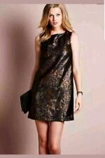 BEAUTIFUL NEXT BLACK BRONZE ALL OVER SEQUINED SHIFT CHRISTMAS PARTY DRESS...