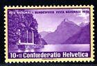 SCHWEIZ 1938 326z ** POSTFRISCH PRO PATRIA GERIFFELTER GUMMI (I2851