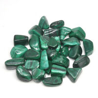 Natural Malachite Tumbled Stones Bulk Healing Crystals Reiki Polished Gemstones