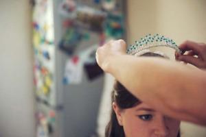 Handmade Tiara made with Swarovski Elements Crystals (Olivia)