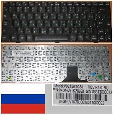 Tastiera Qwerty Russo ASUS EEE EEEPC PC U1 Serie V021562CS1 04GNLV1KRU00 Nero