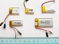 Batteria litio polimero 3,7 V ricaricabili LiPo orologi cellulari smart ricambio