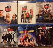 the Big Bang Theory Season 1-6 Blu-ray Disc