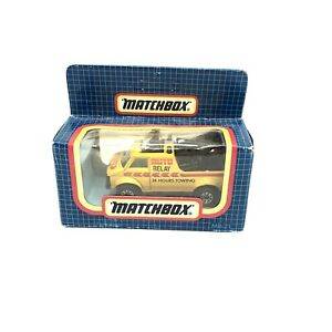 Vintage Matchbox Auto Relay Towing Yellow Truck