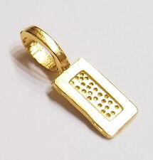 20 Medium Gold Rectangle Glue on Bails, 4 Pendants Cameos Glass Tile Bottlecaps