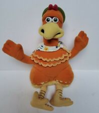 "Vintage Chicken Run Ginger 10"" Stuffed Beanie Plush Playmates Dreamworks 2000"