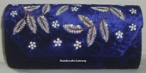 Handicrafts New Embroidery Designer Ladies Purse, Embroidery Ladies Party Bags