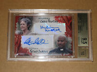 ✨ BGS 9.5 WALKING DEAD SURVIVAL BOX CAROL MCBRIDE GILLIAM GABRIEL AUTO AUTOGRAPH