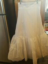0c77a77bfd David s Bridal size 4 slip underskirt nylon style 603 zip up