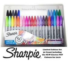 Sharpie Feutre fin Point Permanent Art Craft Marker Pens 30 Pack Assortiment Couleur + Noir