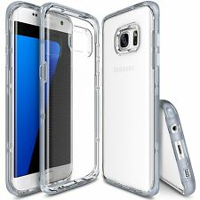 For Galaxy S7 Edge | Ringke Frame Dual-Layered Bumper Drop Protection Cover Case